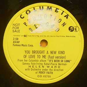 Helen Ward / You Brought A New...